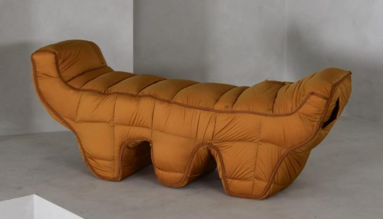 Jinyeong Yeon's Padded Chairs Add Value to Upcycled Materials