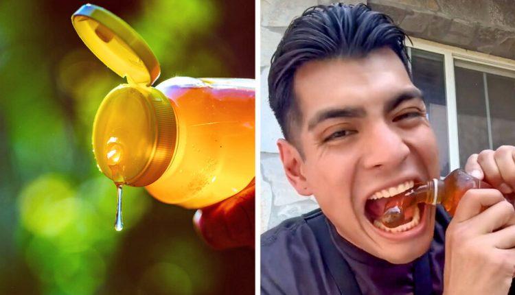 TikTok Trend: Eating Frozen Honey and Risking Ill Effects