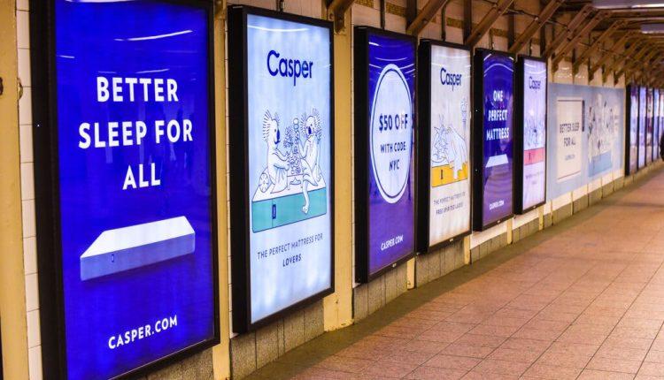 Casper, Sysco, 3D Systems and more