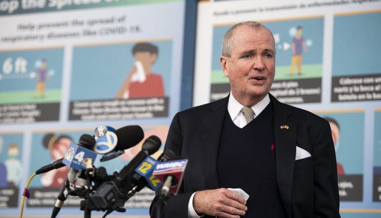 NJ Gov. Murphy mandates vaccines for state health care and