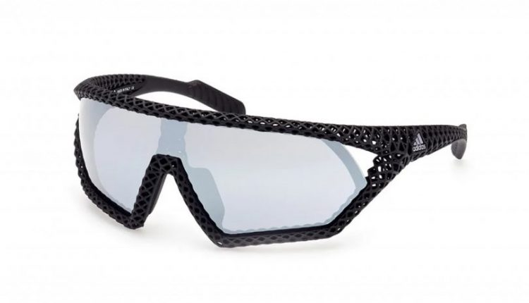 """Adidas Eyewear """"Barely There"""" 3D Printed 3D CMPT Sunglasses"""