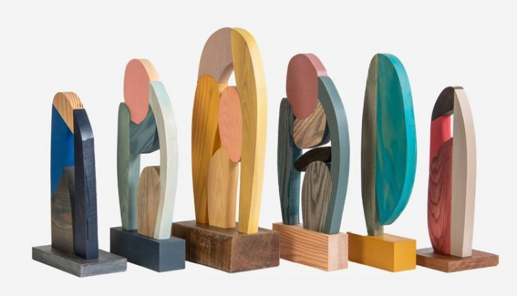 Abstract Assembly Sculptures by Donna Wilson Are a Treat for