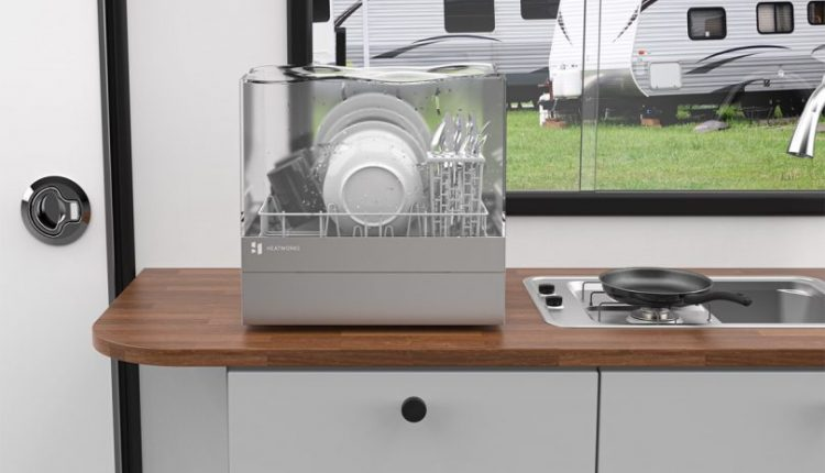 This Countertop Dishwasher Washes Away Anything Deemed Dirty