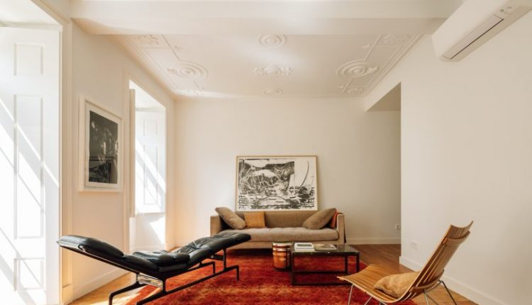 The Gulbenkian House Is Renovated While Preserving Original Details