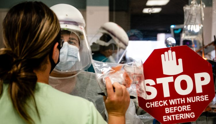 Drug-resistant infections have increased in hospitals during the pandemic.