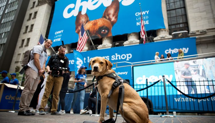 Chewy, Five Below, ChargePoint and more