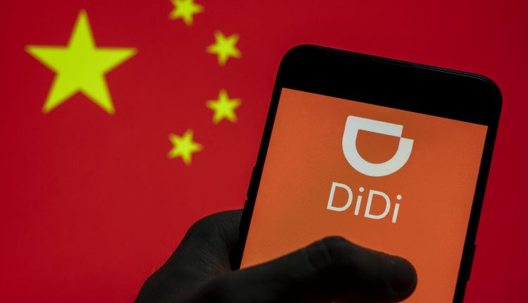 Didi jumps nearly 10% this week amid report of Chinese