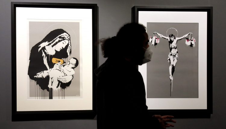 Fake Banksy NFT sells for more than $300,000