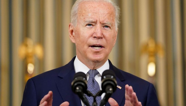 Biden blames delta variant, unvaccinated people