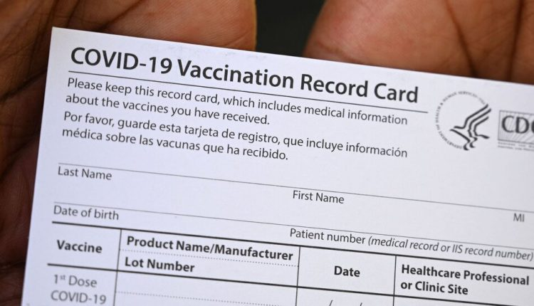 New Jersey Woman Charged With Selling Fake Vaccine Cards
