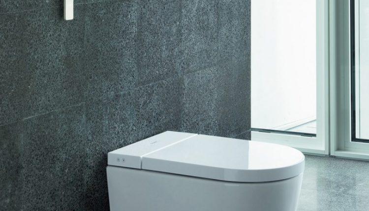 Duravit SensoWash Starck f Toilet Is Flush With Under Lid