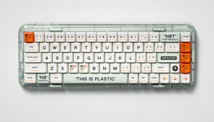Shades of Off-White Transparently Influence Mojo68 Mechanical Keyboards