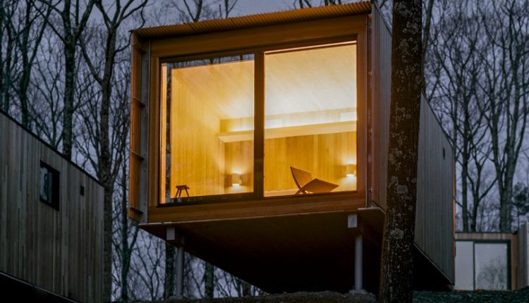Piaule Catskill Is a 'Landscape Hotel' of Cabins in Upstate
